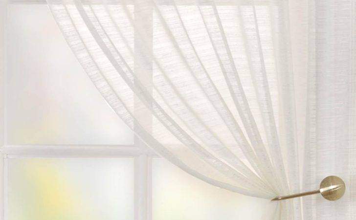 Lucerne Voile Curtain Panel Cream Delivery