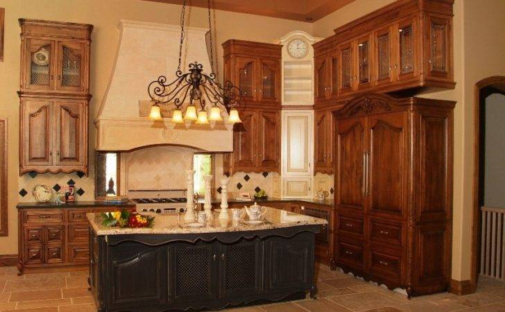 Luxurious French Country Kitchen Engaged Modern Design