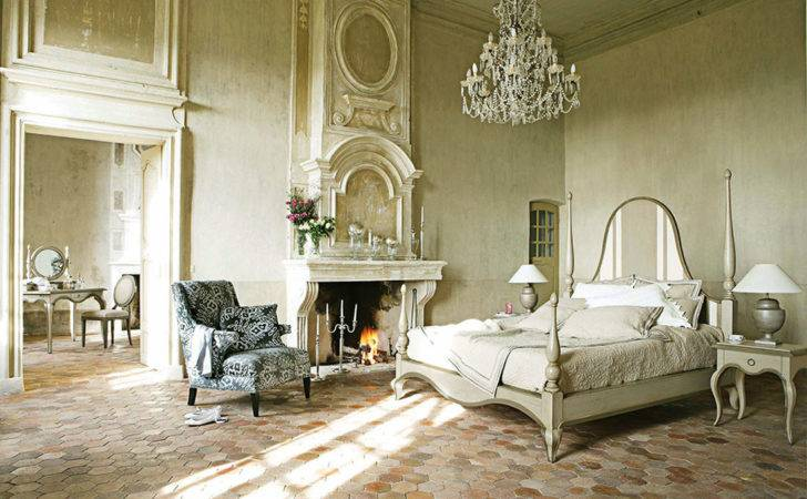 Luxury French Bedroom Furniture Fireplace Ideas