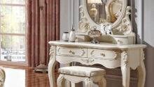 Luxury French Style Pricess Dresser Makeup Dressing Table