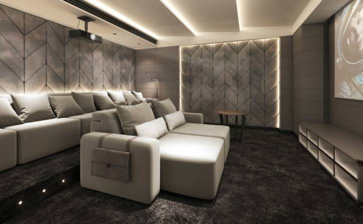 Luxury Home Cinema Seating Installation