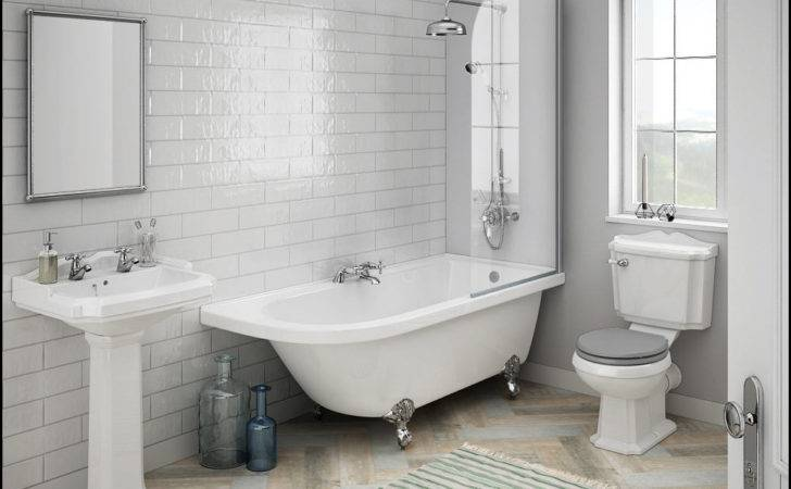 Luxury Traditional Bathroom Suites Packages Small