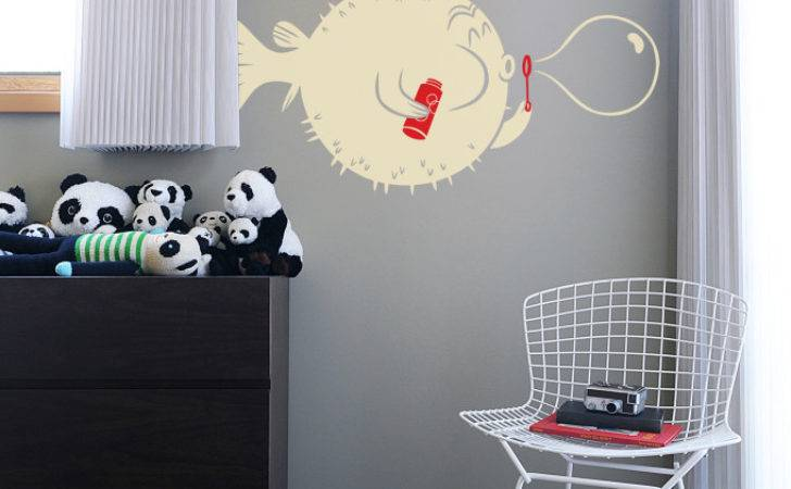 Mad Wall Stickers House