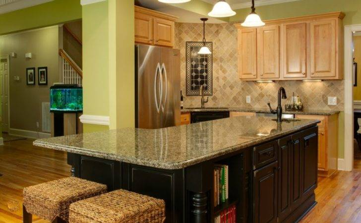 Magnetic Shaped Kitchen Island Sink Bookcase