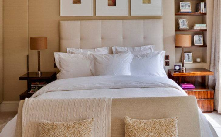 Magnificent Neutral Bedroom Ideas White Color Bed Brown