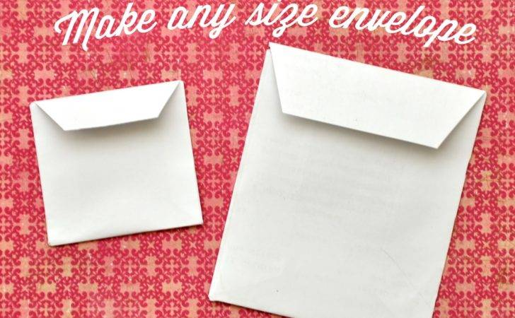 Make Any Envelope Open Side Style Agus