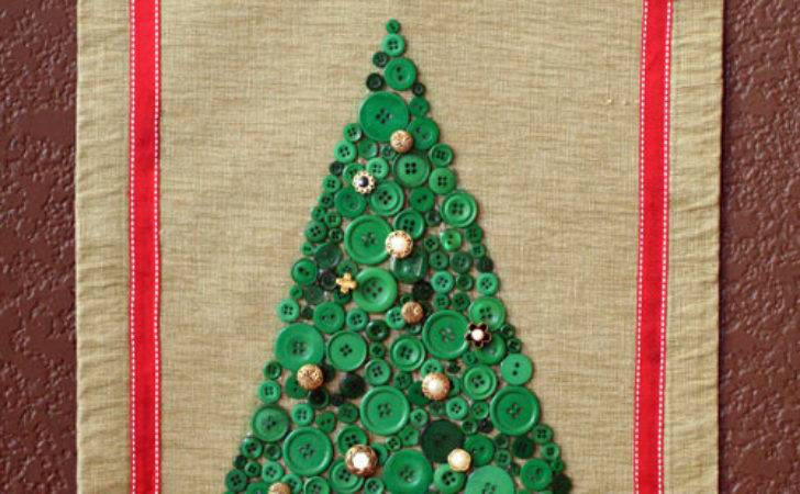 Make Christmas Tree Collage Decorations