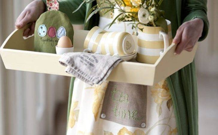 Make Country Style Apron Craft Idea
