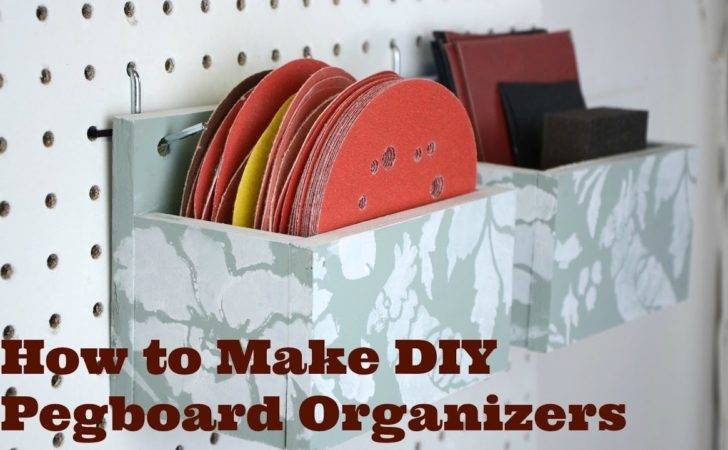 Make Diy Pegboard Organizers Tutorials Thrift