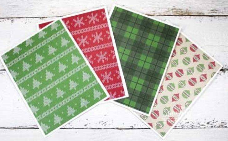 Make Easy Christmas Cards Home Teach Stamping