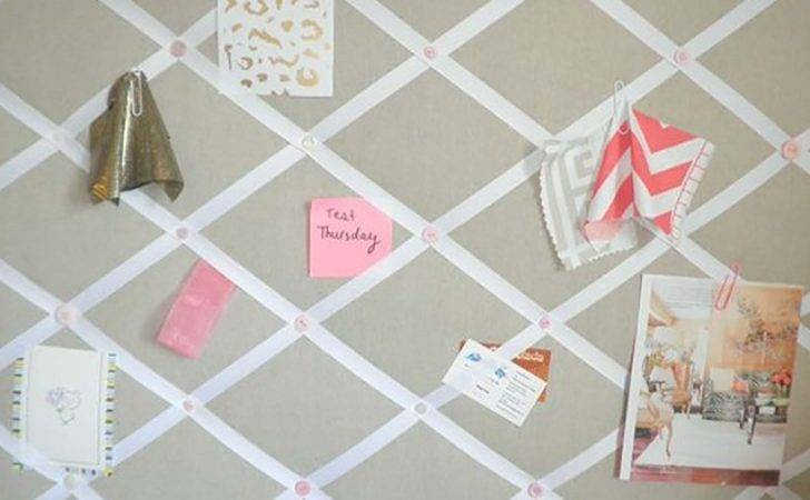 Make Fabric Covered Pin Board Oversixty