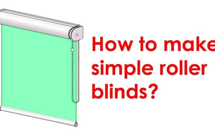 Make Roller Blind Youtube
