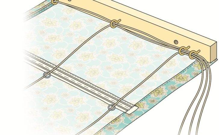 Make Roman Blind Hobbycraft Blog