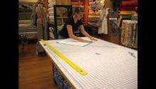 Make Round Tablecloth Out Oilcloth Youtube