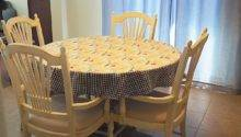 Make Round Tablecloth Steps
