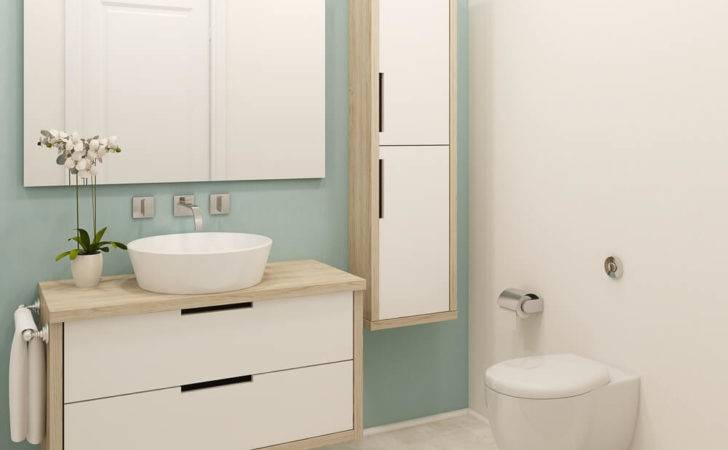 Make Small Bathroom Look Bigger Interior Design