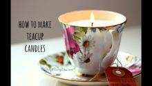 Make Teacup Candle Youtube