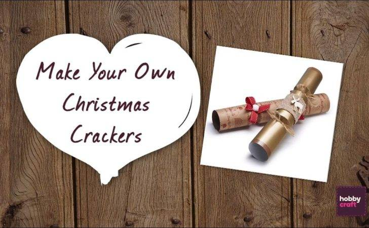 Make Your Own Christmas Crackers Hobbycraft Youtube
