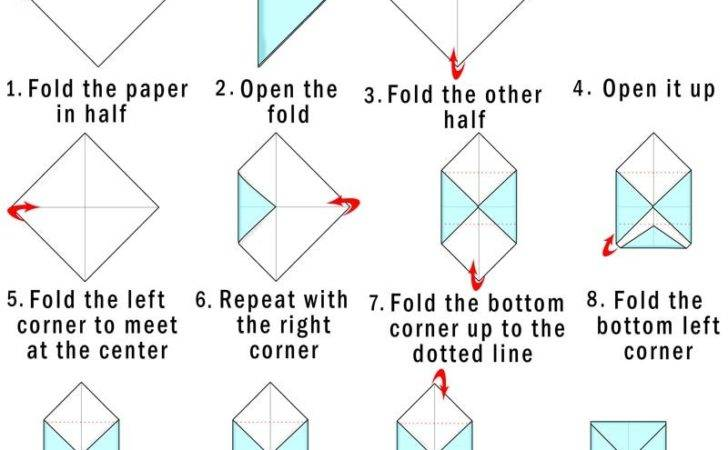 Make Your Own Origami Envelope Paper Cool Bkids