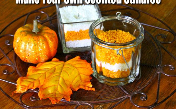 Make Your Own Scented Candle Natural Thrifty