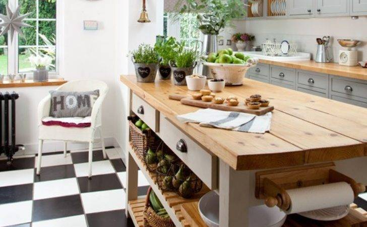 Makeover Grey Country Kitchen Housetohome