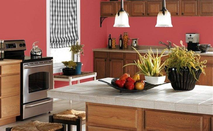 Making Your Home Sing Red Paint Colors Kitchen