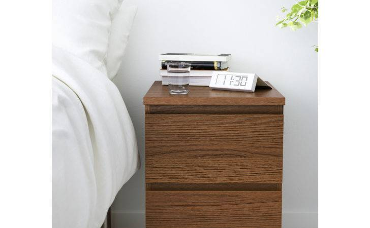 Malm Chest Drawers Brown Stained Ash Veneer