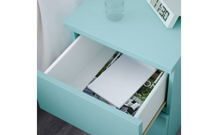 Malm Chest Drawers Light Turquoise Ikea