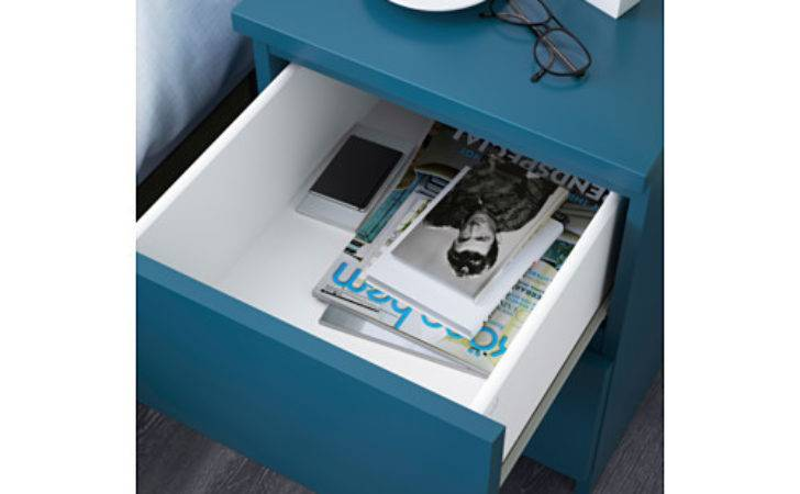 Malm Chest Drawers Turquoise Ikea