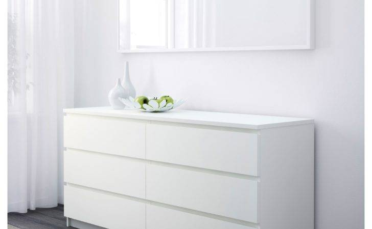 Malm Chest Drawers White Ikea