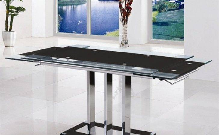 Mani Extending Glass Dining Table Chairs