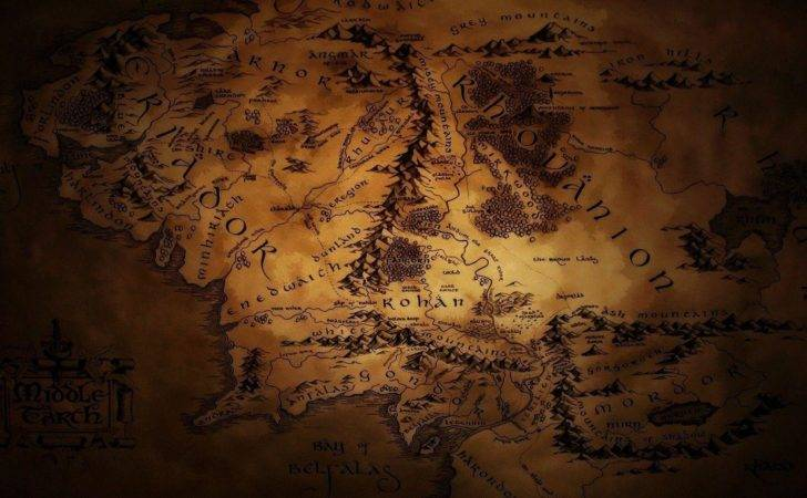 Map Middle Earth Cave