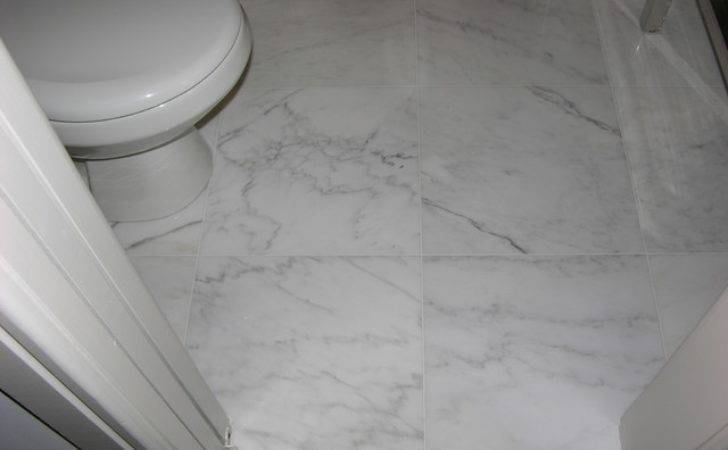 Marble Bathroom Floor Toronto Caledon