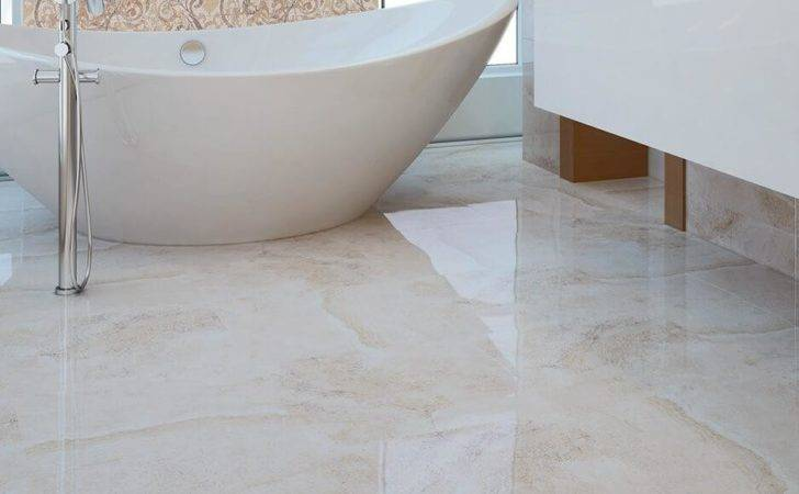 Marble Effect Floor Tiles Deliver Classic Look