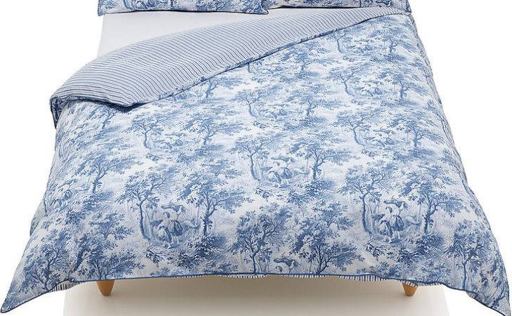 Marks Spencer Country Toile Print Bedding Set