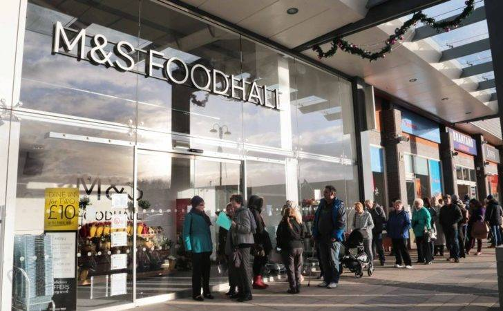 Marks Spencer Opening Broughton Daily Post