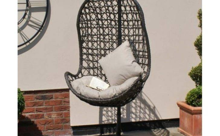 Maze Rattan Hanging Chair Synthetic