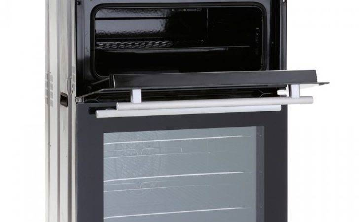 Mdo Montpellier Black Built Double Fan Oven