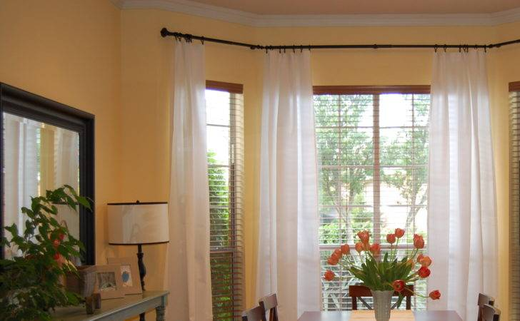 Measure Curtain Rods Bay Window Home