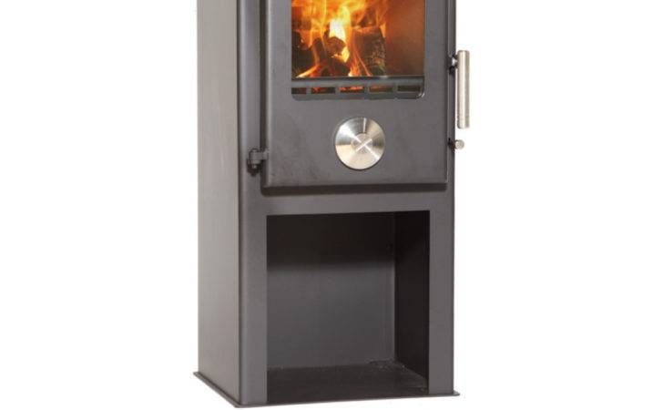 Mendip Defra Approved Multi Fuel Stove Logstore