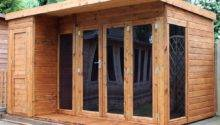 Mercia Garden Room Summerhouse Side Shed