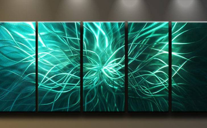 Metal Wall Art Contemporary Paintings Matthew