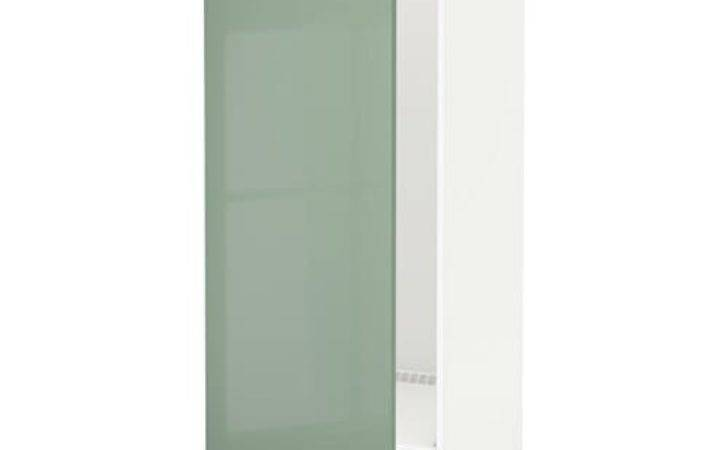 Metod High Cabinet Fridge Freezer White Kallarp