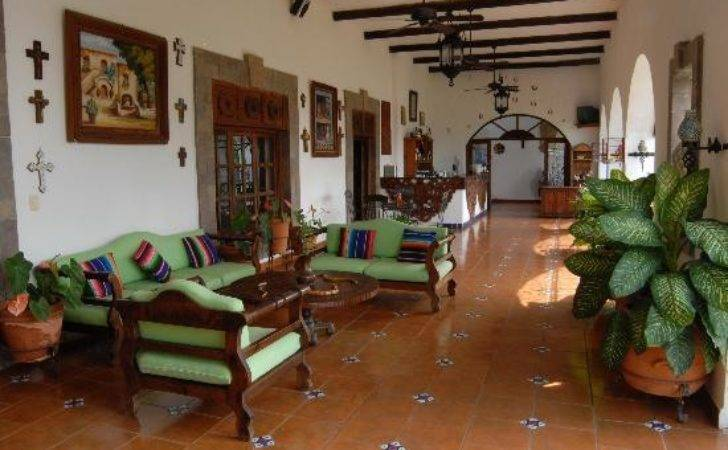 Mexican Living Room Casa Mission Cozumel