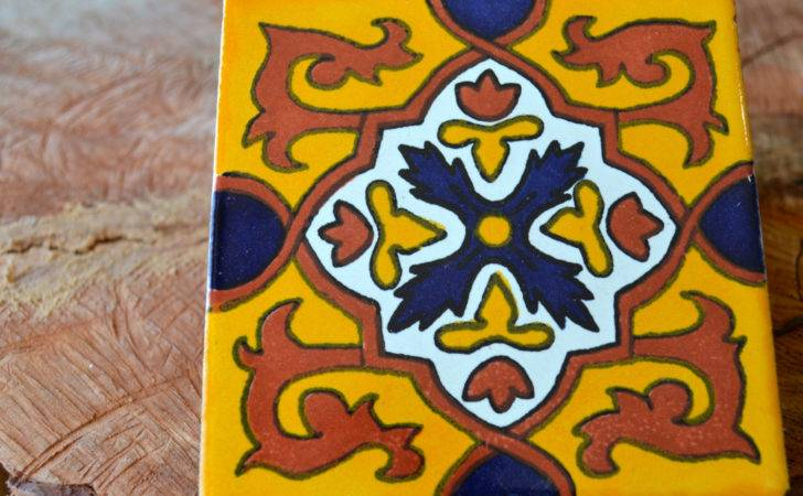 Mexican Talavera Tiles Hand Painted