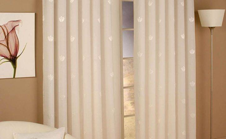 Miami Eyelet Voile Curtains Natural Delivery