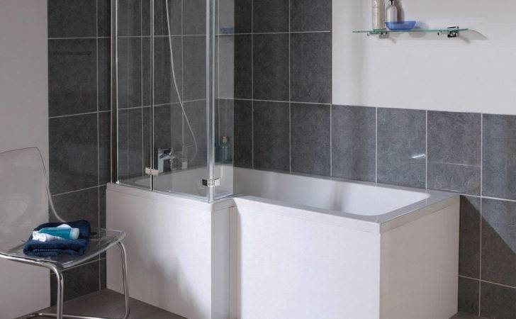 Milan Shower Bath Shaped Double Hinged