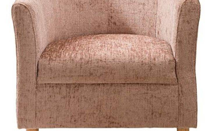 Millie Chenille Tub Chair Oxendales