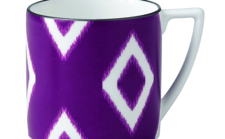 Mini Mug Purple Kilim Wedgwood