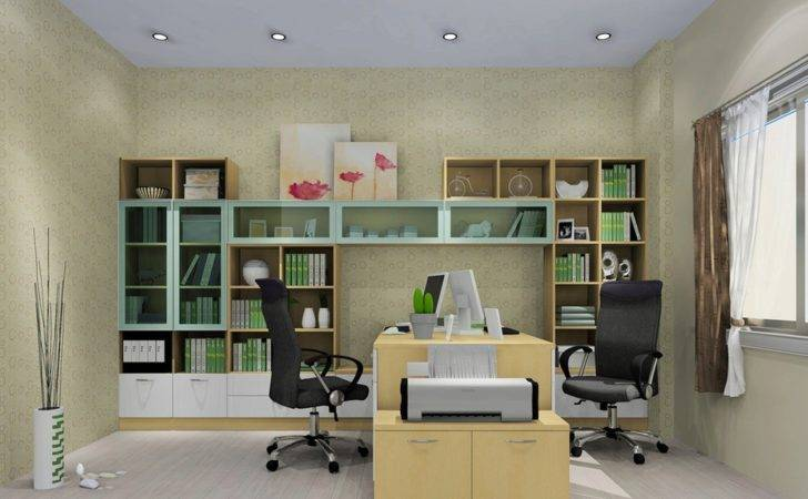 Minimalist Home Office Interior Design